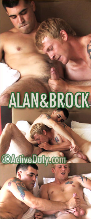 Alan and Brock
